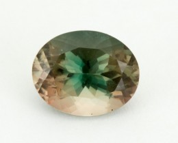 2.1ct Oregon Sunstone, Green/Red Oval (S1975)