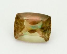 6.1ct Oregon Sunstone, Green/Peach Rectangle (S1977)