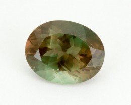 5.3ct Oregon Sunstone, Green/Dichroic Oval (S1983)