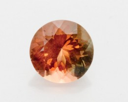 2.4ct Oregon Sunstone, Red with Green Round (S1971)