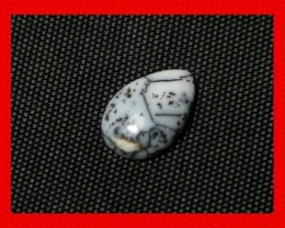 11x8mm 2cts Natural Dendritic Agate Cab Stone Y99