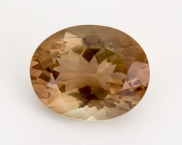 6.4ct Oregon Sunstone, Rootbeer/Watermelon Oval (S2000)