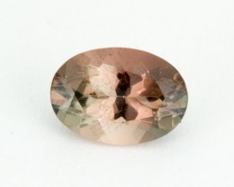 .7ct Oregon Sunstone, Pink/Green Oval (S2028)