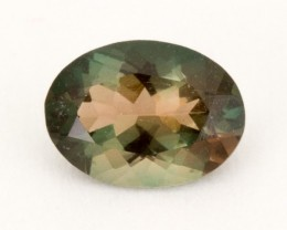 .55ct Oregon Sunstone, Green/Rootbeer Oval (S2045)