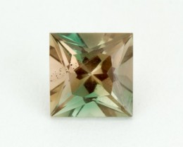 1.6ct Oregon Sunstone, Green/Peach Square (S2015)