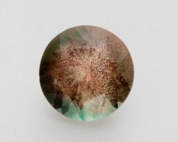 3.4ct Oregon Sunstone, Green/Peach Round (S2048)