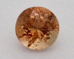 .4ct Oregon Sunstone, Peach Round (S1991)