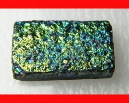 29cts Natural Titanium Druzy Cab Stone Z873