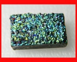 40cts Natural Titanium Druzy Cab Stone Z874