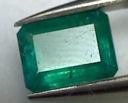 Beautiful 1ct Emerald Cut, Emerald - Colombia  A899