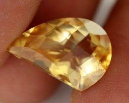 6.98 CTS VVS SOFT ORANGE CITRINE - STUNNING - [CIT21]