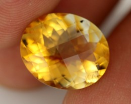 6.34 CTS VVS SOFT ORANGE CITRINE - STUNNING - [CIT22]