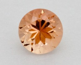 .6ct Oregon Sunstone, Pink/Champagne Round (S2022)