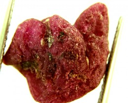 17.40 CTS BURMA RUBY ROUGH RICH PINKY  RED    RG-238