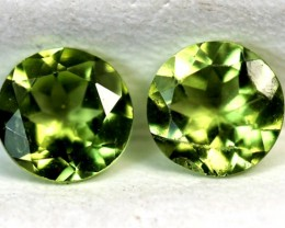 0.90 CTS PERIDOT BRIGHT GREEN  CG-18