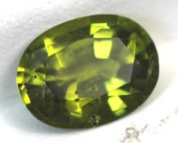 1.55 CTS PERIDOT BRIGHT GREEN  CG-19
