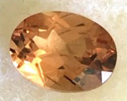 1.62ct CERTIFIED Golden Orange Hessonite Garnet Tanzania A913 F77