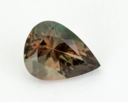 1.1ct Oregon Sunstone, Green/Pink Pear (S2085)