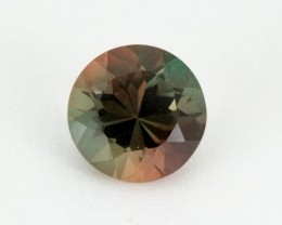 1.4ct Oregon Sunstone, Green/Red Round (S2087)
