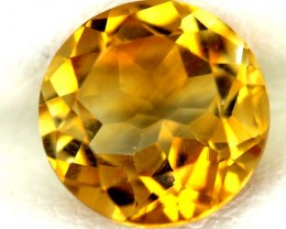 CITRINE NATURAL FACETED 2.45 CTS 9X9  CG-34