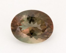 1.7ct Oregon Sunstone, Rootbeer/Dichroic Oval (S2112)