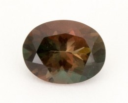 1.3ct Oregon Sunstone, Bicolor Rootbeer Oval (S2121)