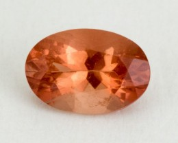 .35ct Oregon Sunstone, Peach Oval (S2054)