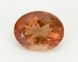 7.6ct Peach w/Schiller Oval Sunstone (S2067)