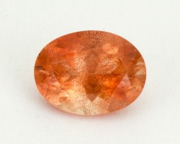 1.2ct Oregon Sunstone, Peach Oval (S2097)