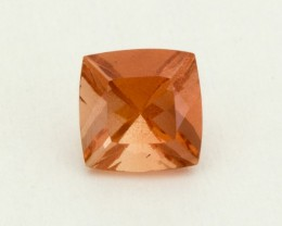 .9ct Oregon Sunstone, Peach Square (S2103)