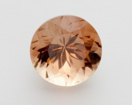 3.1ct Oregon Sunstone, Peach Round (S2130)