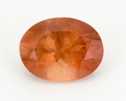 1.6ct Peach Oval Sunstone (S2134)