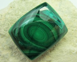 67.7CTS   MALACHITE GEMSTONE  GG 1110