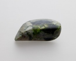 40.4ct Polished Wavellite, Emerald Green Cabochon (WL04)