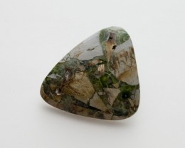 ct Polished Wavellite, Green Cabochon (WL07)