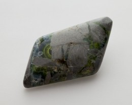 47.8ct Polished Wavellite, Emerald Green Double Cab (WL12)