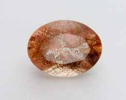 1.3ct Peach Standard Oval Sunstone (S2144)