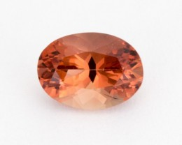 1ct Oregon Sunstone, Red Oval (S2050)