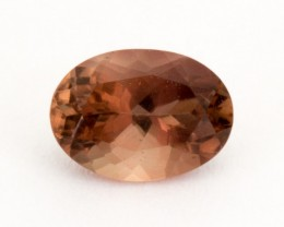 .7ct Oregon Sunstone, Rootbeer/Red Oval (S2014)