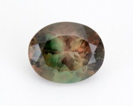 4.3ct Oregon Sunstone, Green/Watermelon Oval (S2145)
