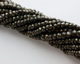 72ct Pyrite Bead Strands (B15)