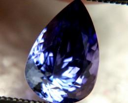 1.90 Carat VVS1 African Tanzanite - Gorgeous