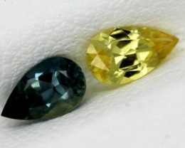 BLUE-YELLOW   SAPPHIRE UNTREATED 0.80  CTS  PG-235