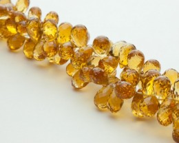 109ct Citrine Bead Strands (B20)