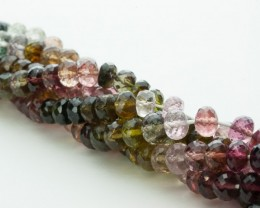 133.5ct Tourmaline Bead Strands (B21)