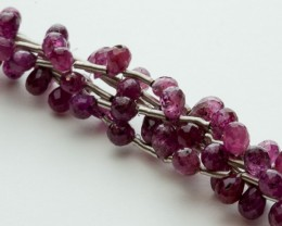 20ct Ruby Bead Strands (B22)