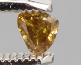 SPARKLING HEART SHAPE NATURAL WHISKY DIAMOND 0.13Cts