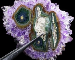 59.98 CTS A GRADE AMETHYST ' STALACTITE' [ST7042]