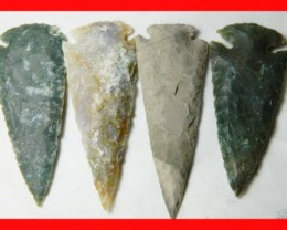 3 to 4 Inch Natural Jasper Arrow Head Caving Z10
