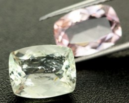 5.50 CTS VS LIGHT GREEN AND PINK TOURMALINE [TRM36]